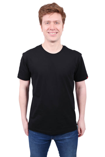 Unisex Black T-shirt Organic Fairtrade Etiko