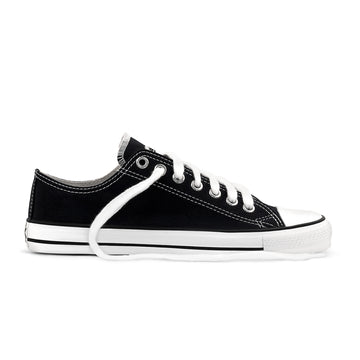 Sneakers Lowcuts Black & White Organic Fairtrade Etiko