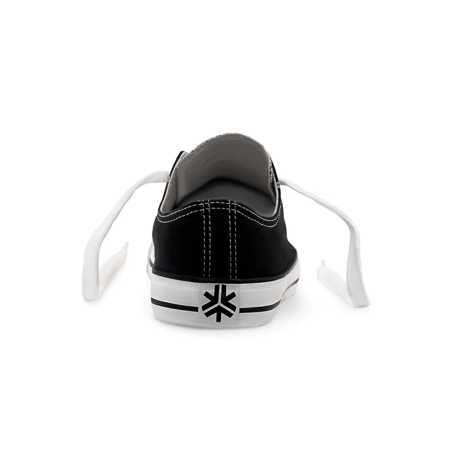 Sneakers Lowcuts Black & White Organic