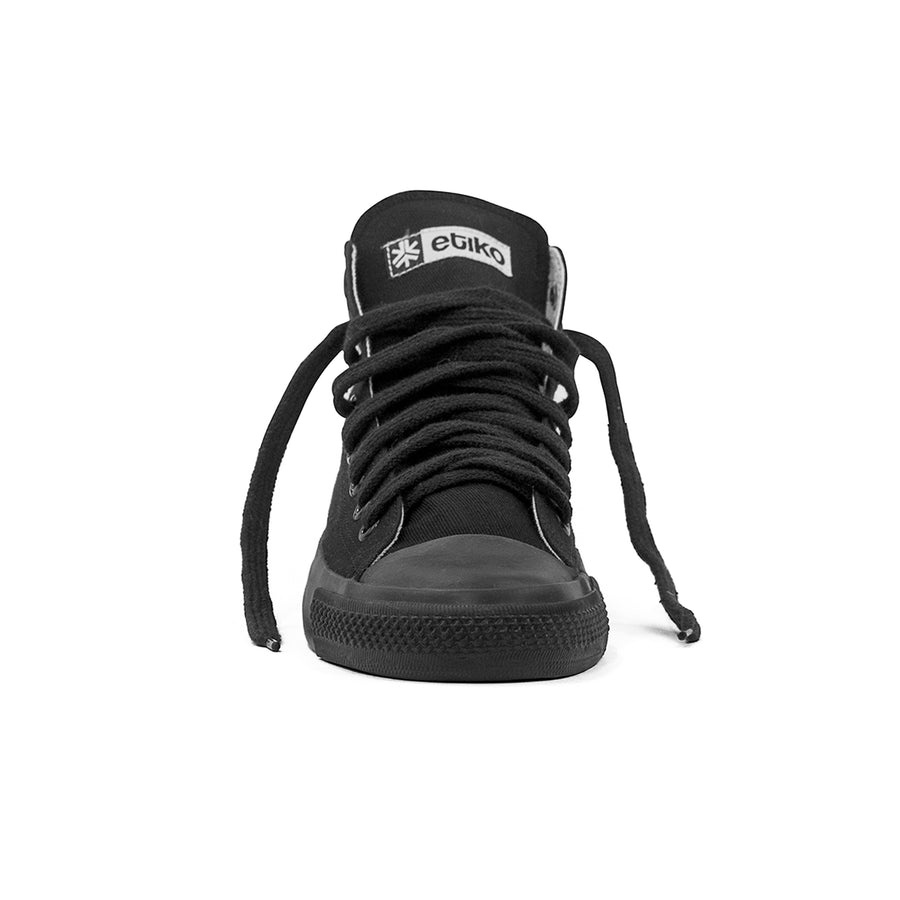 Sneakers Hitops All Black Organic