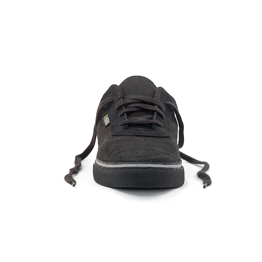 All Black  Hemp Sneakers  Etiko