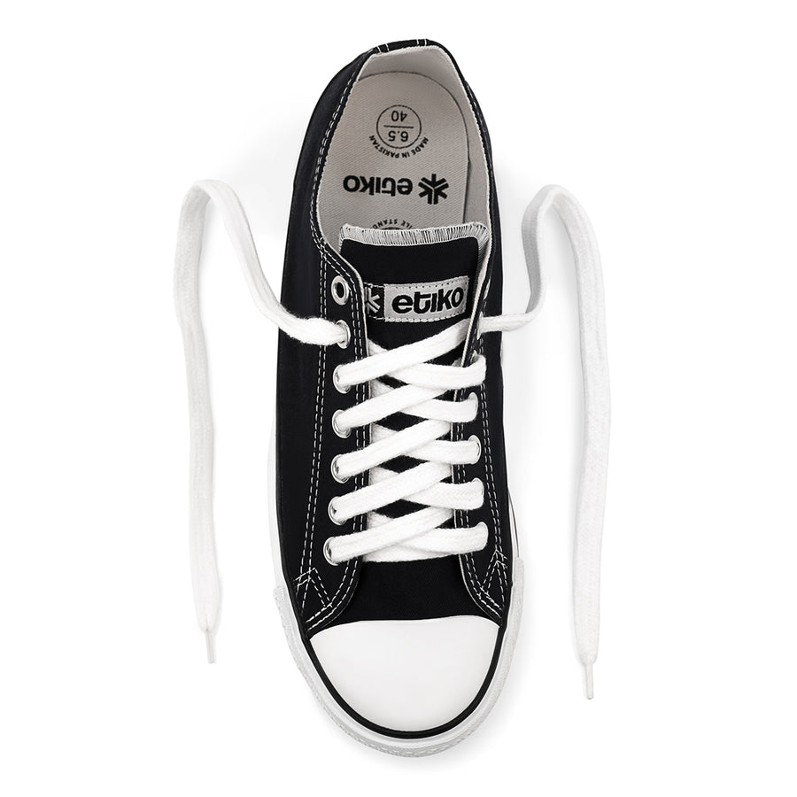 Sneakers Lowcuts Black & White