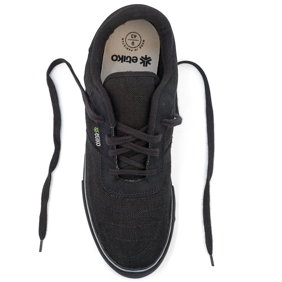 Hemp Sneakers All Black
