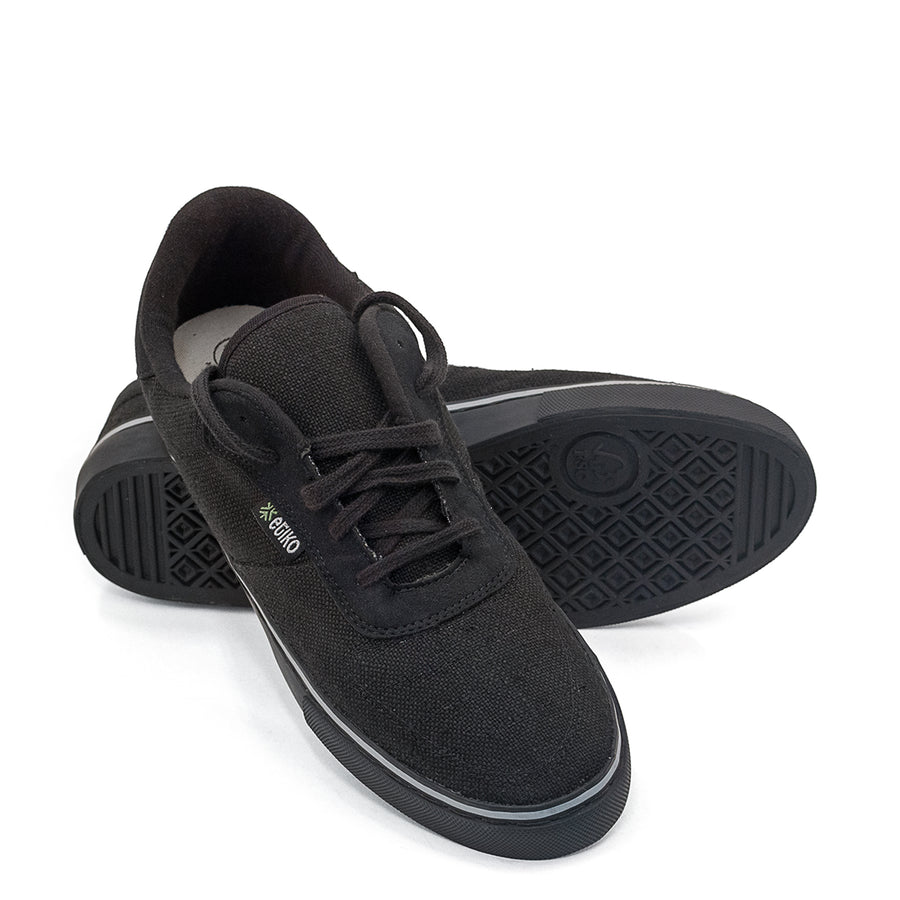 Etiko Hemp All Black  Sneakers