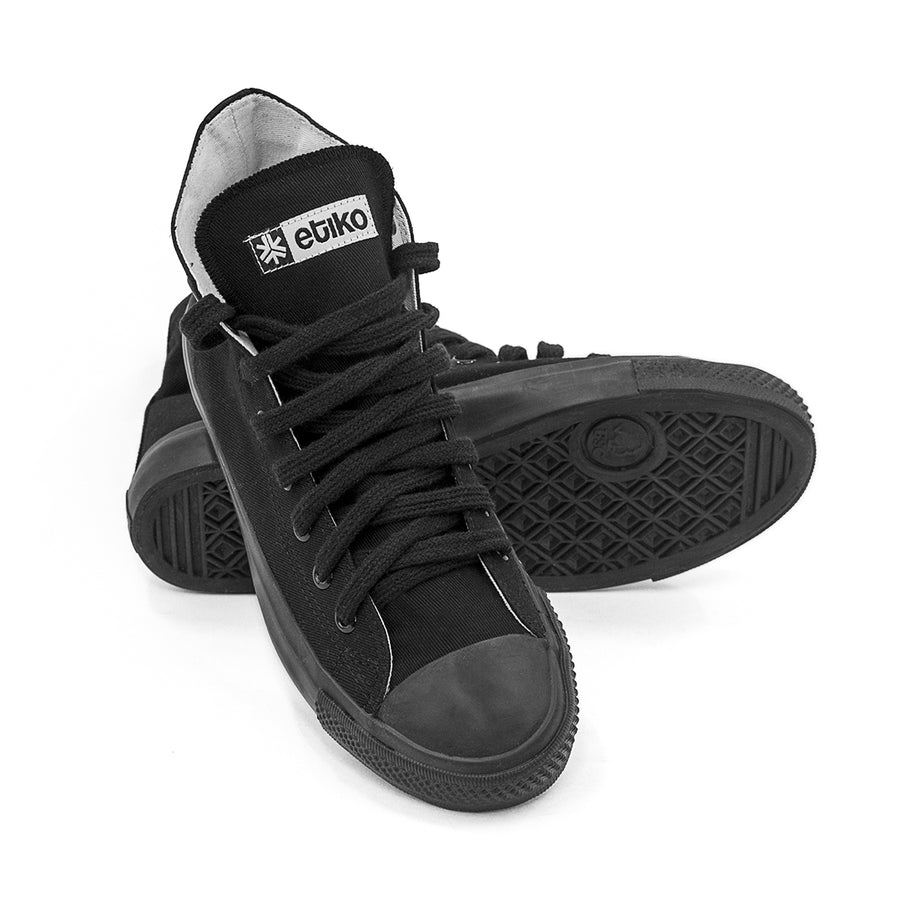 Etiko Sneakers Hitops All Black Organic