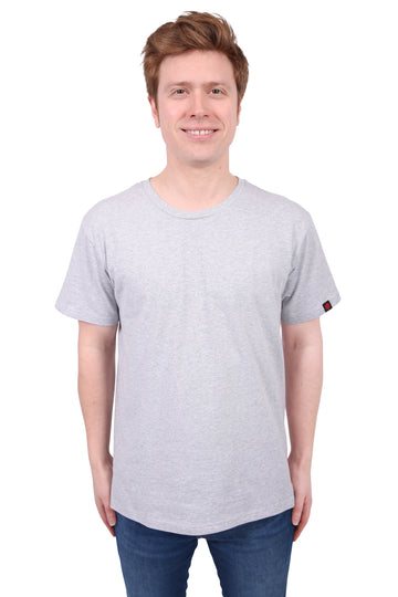 Unisex Marle Grey T-shirt Organic Fairtrade Etiko