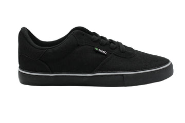 Hemp Sneakers All Black w/ Hemp Logo Etiko