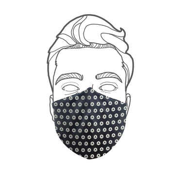 Facemask Organic Fairtrade Black Etiko