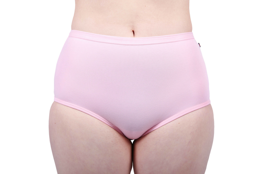 Full Brief, Pink, Organic & Fairtrade