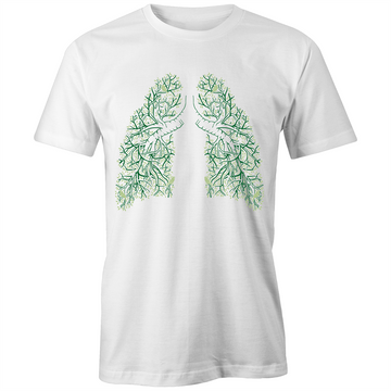 Lungs of the Earth - Unisex Fairtrade Organic Crew Tee
