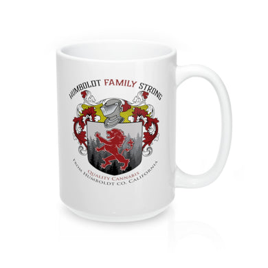 Humboldt Family Strong Logo Mug 15oz