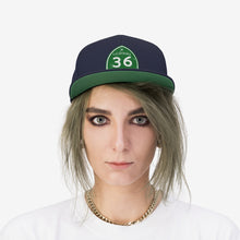 Unisex Humboldt Family Strong Highway 36 Flat Bill Hat