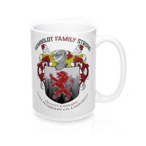 Humboldt Family Strong Mantra Mug 15oz