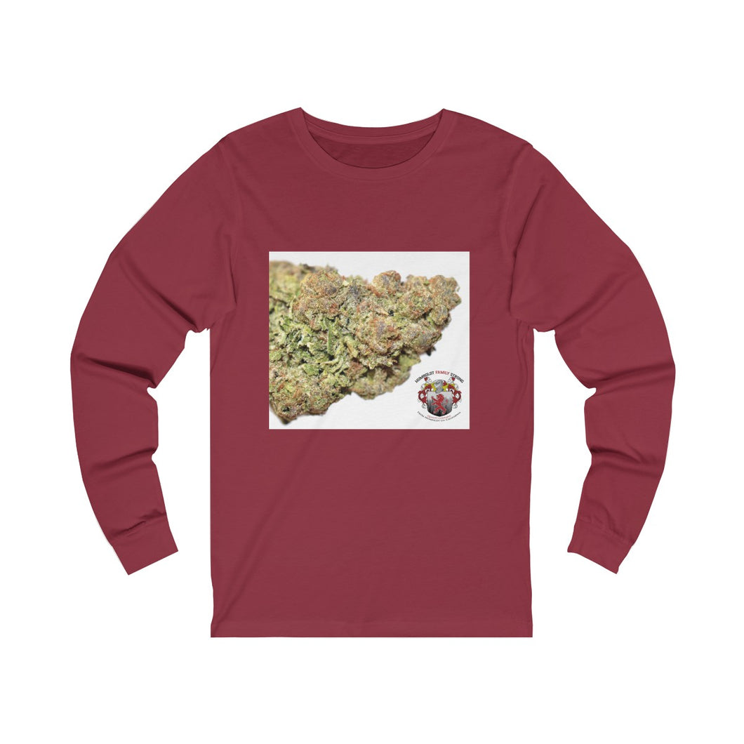 Unisex Humboldt Family Strong AAA Grade Bud Jersey Long Sleeve Tee