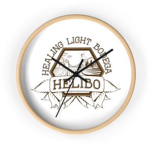 Helibo Logo Wall clock