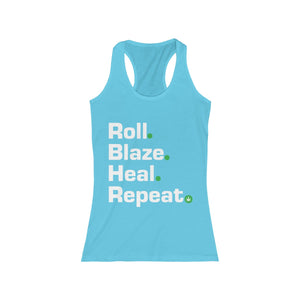 Women's Humboldt Family Strong Mantra Racerback Tank