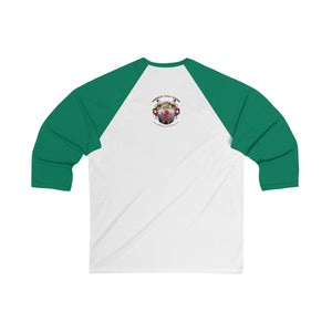 Unisex Humboldt Family Strong Together 3/4 Sleeve Baseball Tee