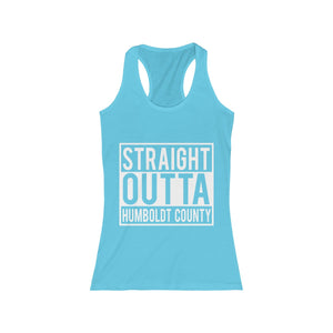 Women's Humboldt Family Strong Explicit Racerback Tank
