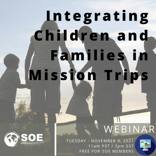 Integrating Children and Families in Mission Trips