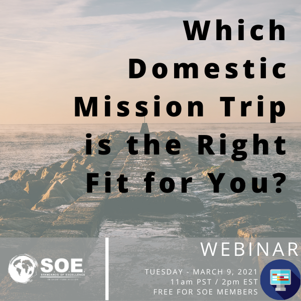 Which Domestic Mission Trip is the Right Fit for You?