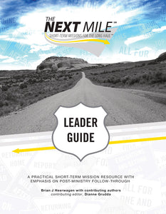The Next Mile Leader Guide with CD