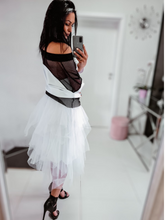 Load image into Gallery viewer, White Tutu and White Top Set