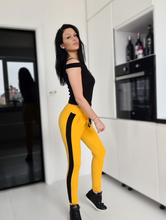 Load image into Gallery viewer, One arm hook vest and yellow pants set