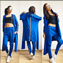 Load image into Gallery viewer, Long Jacket + pants Set - FabNetStudio