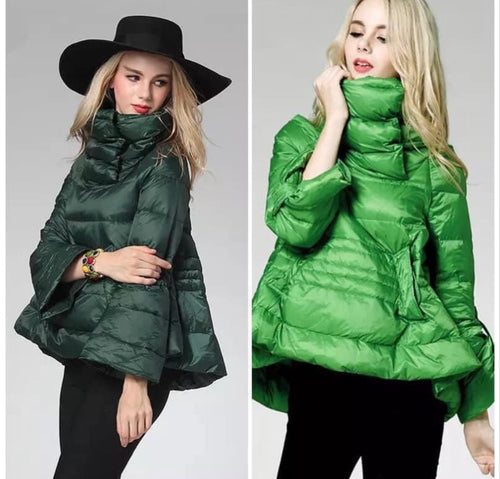 Pullover Bell Jacket in Green