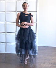 Load image into Gallery viewer, Tutu Tull Skirt and one arm hook vest