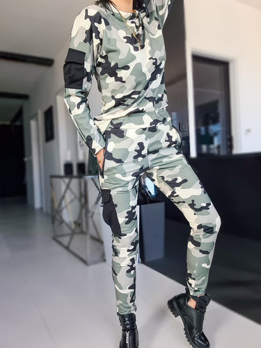 Camouflage Activewear  Set