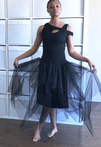 Tutu Tull Skirt and one arm hook vest