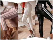 Load image into Gallery viewer, Eco Leather Pants - FabNetStudio