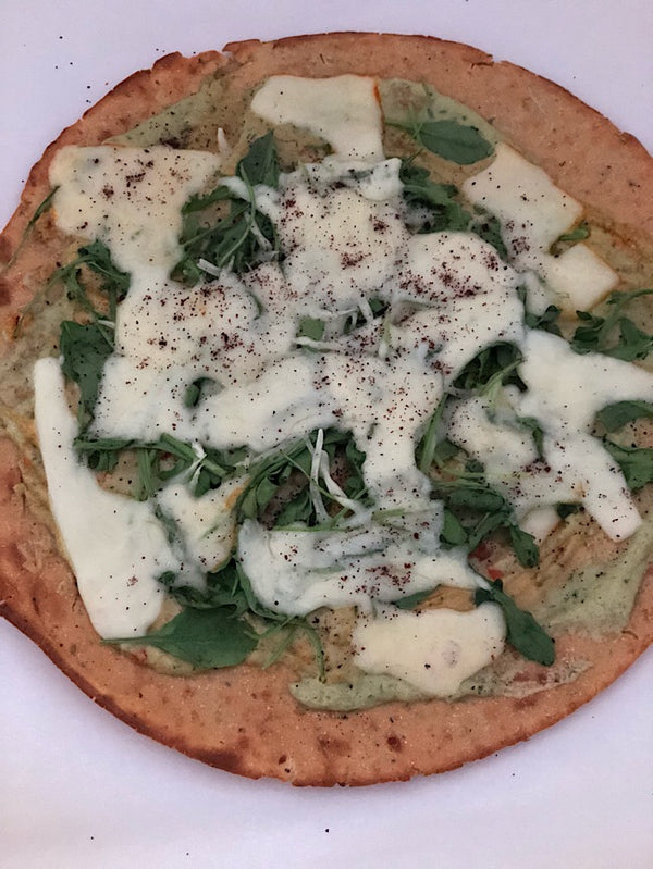 Goddess Cauliflower pizza