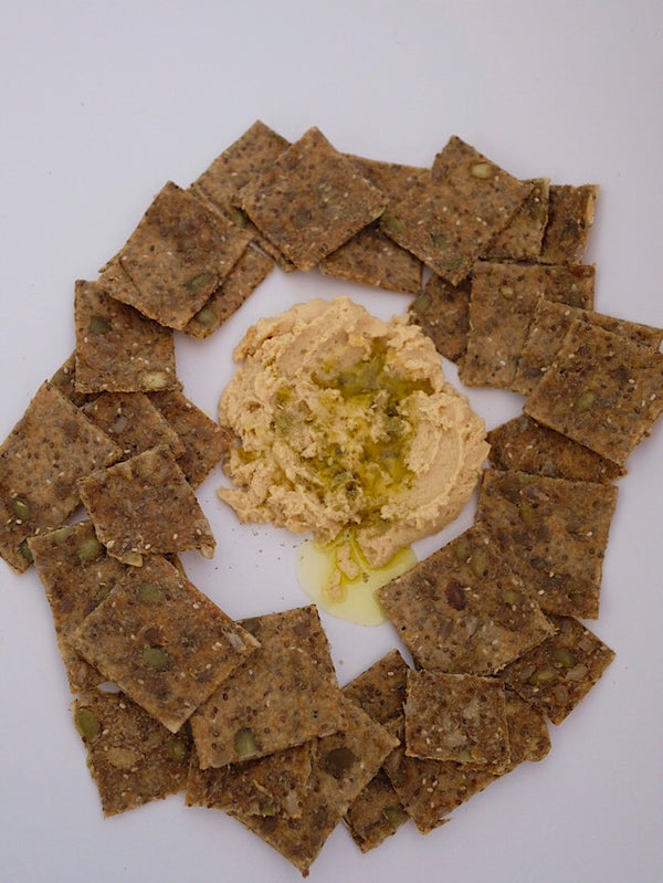 GF Flaxseed crackers 🌱