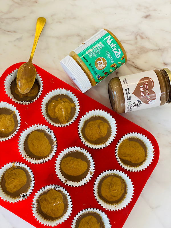 Tahini chocolate pb cups