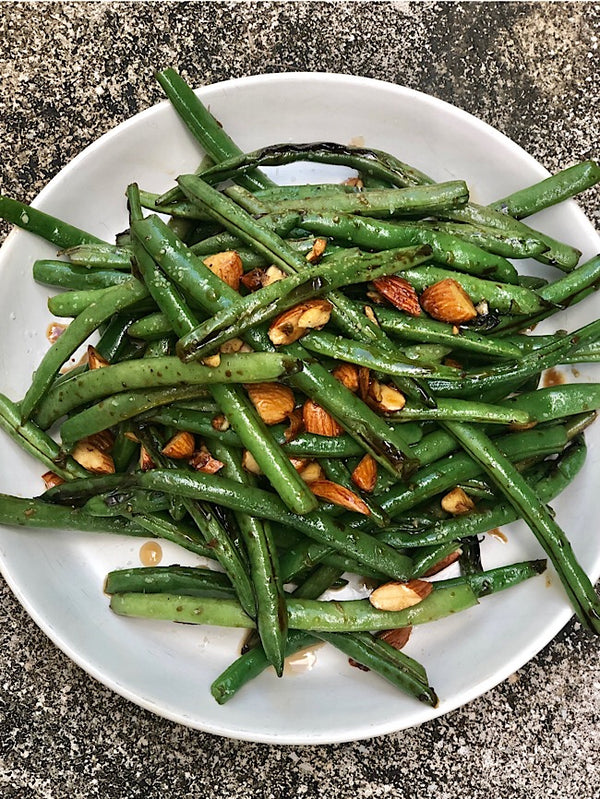 Green beans salad  Asian style