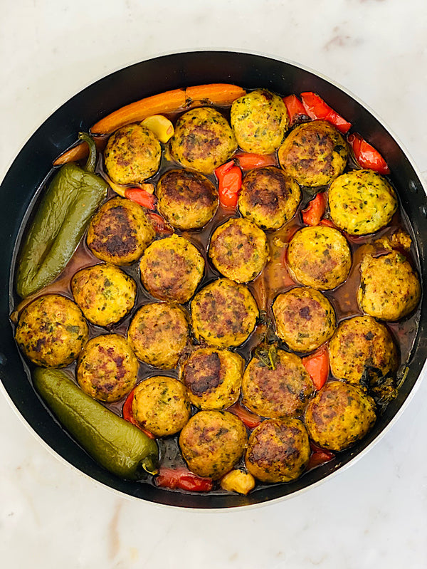 Moroccan style fish cakes