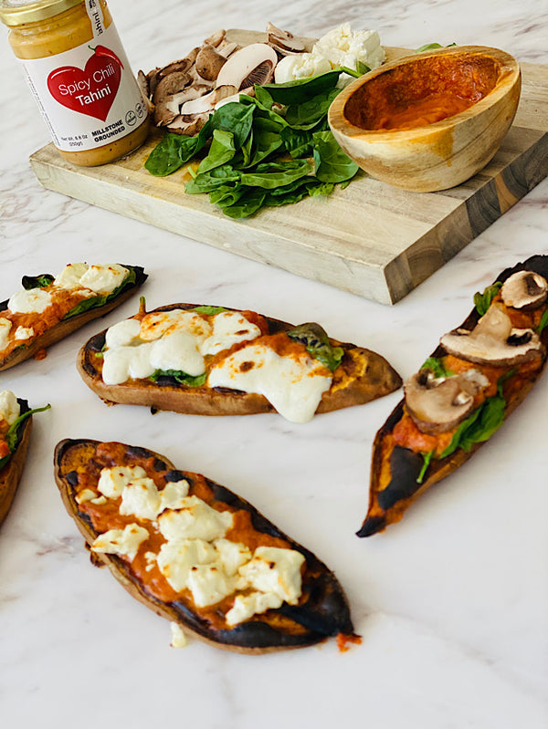 Sweet potatoes toast