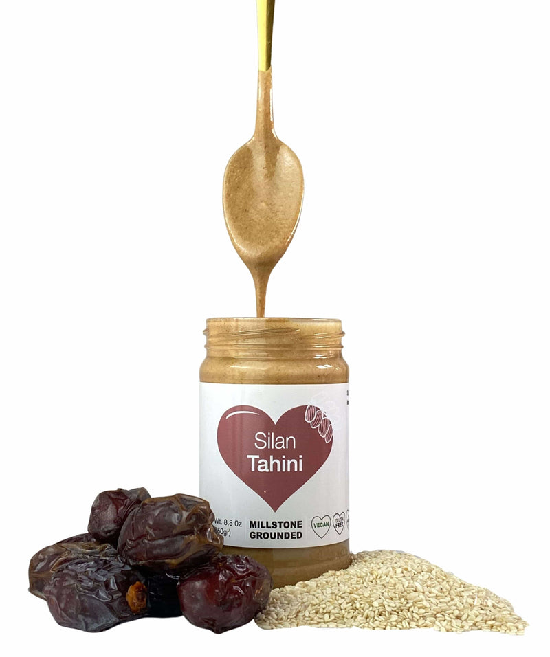 Tahini - kosher - Smoother, Creamier, Pure and Authentic .Net Wt. 8.8 0z (250gr)