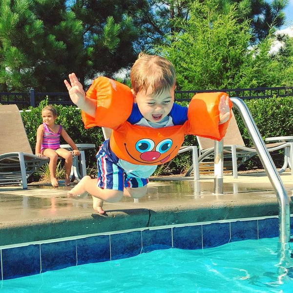 Kids Life Jacket-The Safest U.S. Coast Guard Approved Learn-to-Swim Aid