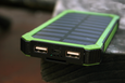 SHOCK-PROOF & WATER-PROOF SOLAR POWER BANK CHARGER