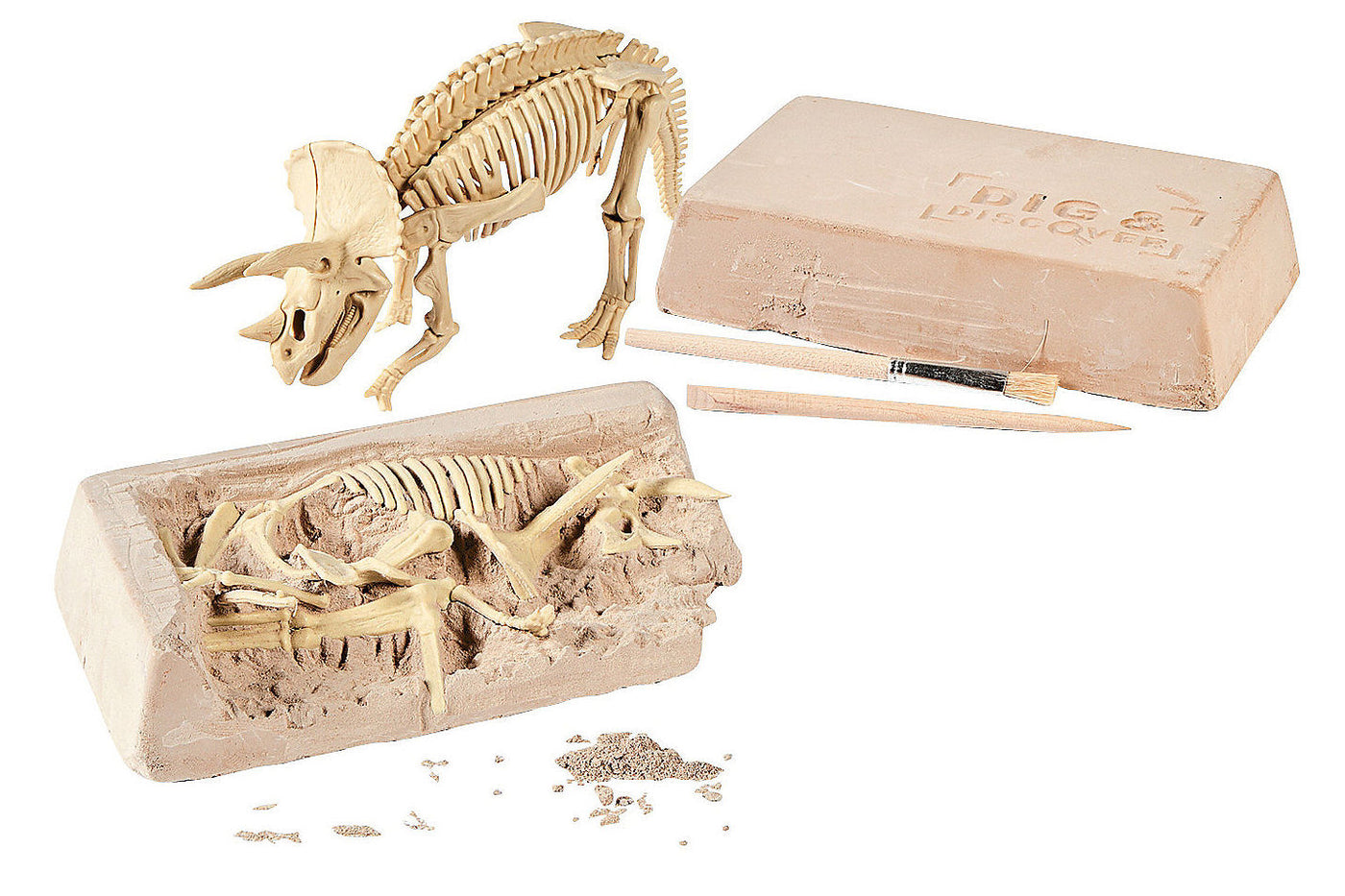 Dinosaur Dig Science Kit <br>Science doesn't get any cooler than this!