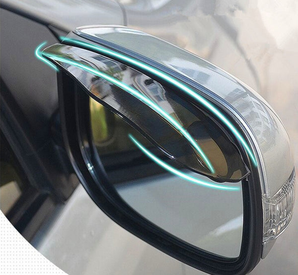 2 Pack Automotive/Car Rearview Mirror Visor Rain guard Mirror Protector for All Vehicles