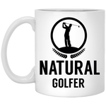 11 oz. Natural Golfer Mug