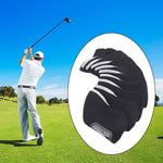 10pcs/set Golf Head Cover  Waterproof Material  - Black