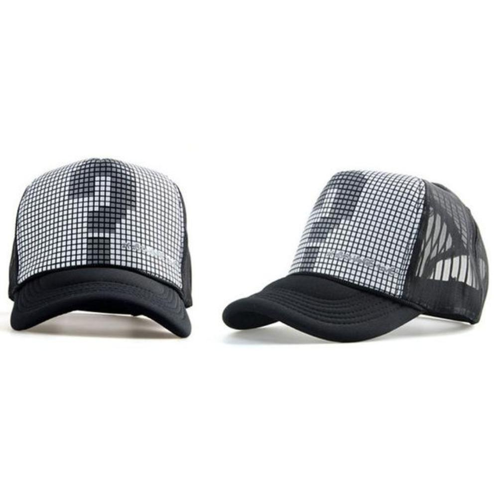 Adjustable Cotton Hat - Mesh