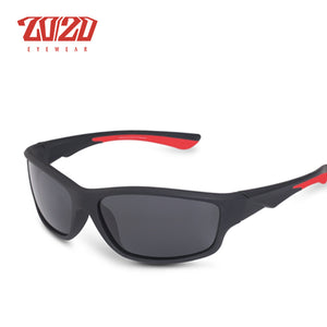 Rectangle polarize sunglasses