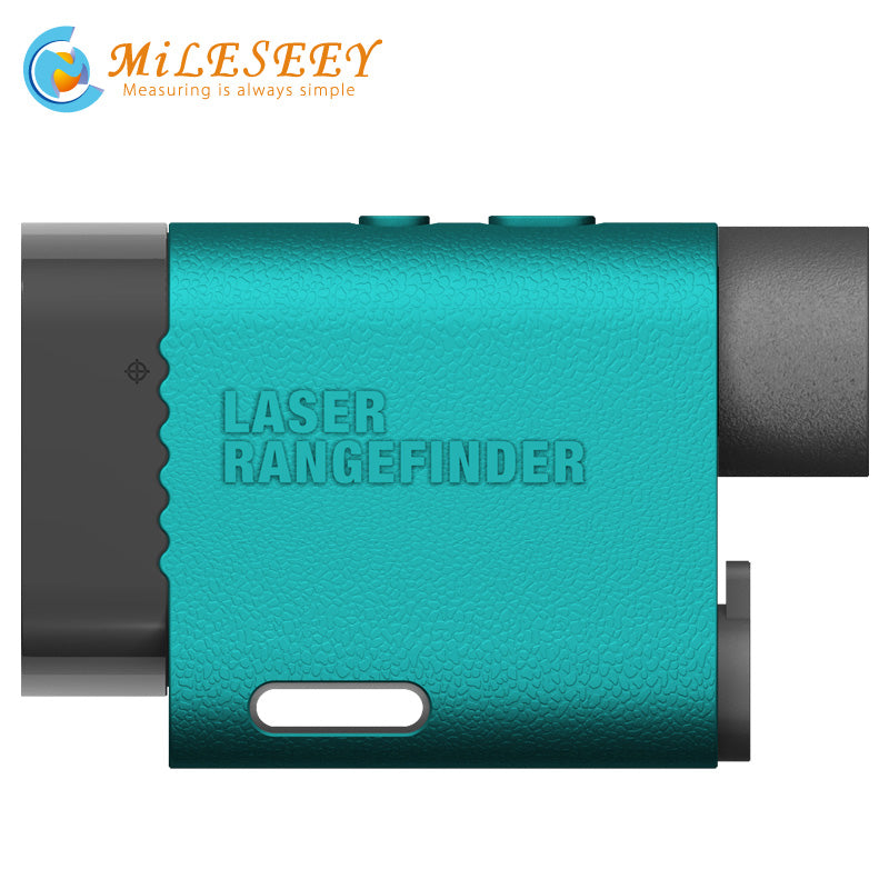 1000M Golf Rangefinder Scope- Laser Range Finder with Slope Flag-Lock and Distance/Height/Speed/Angle Measurem