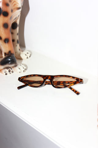 Milky White Diamante Square Sunglasses